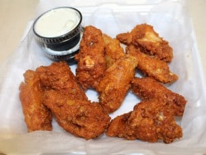 Hot or Mild Chicken Wings